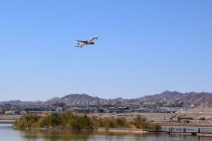 About 15 flights connect Eilat to the country's center every day.