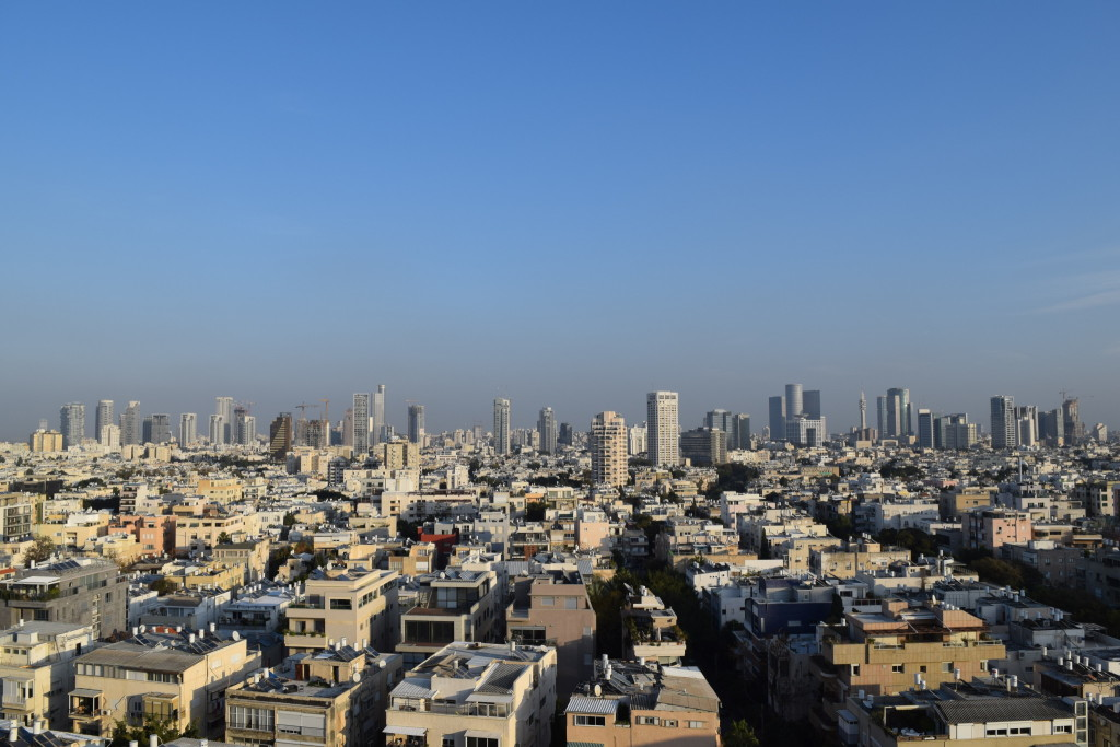 Fueled by solid economic growth, the Tel Aviv skyline is a work in progress, expanding every year.