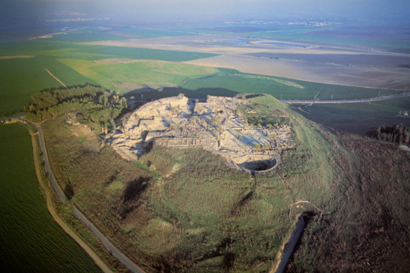 Although it was last inhabited in the time of Alexander the Great in the 4th century BC, Megiddo still held a powerful grip on the imaginations of people several hundred years later to whom the book of Revelations assertions about a final battle at Armageddon rang true.